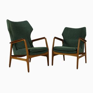 Vintage Armchairs by Aksel Bender Madsen for Bovenkamp, 1962, Set of 2