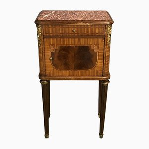 Antique Mahogany & Cherry Nightstand