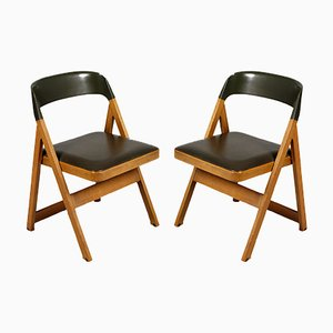 Compasso Chairs by Afra & Tobia Scarpa for Piarotto, 1980s, Set of 2