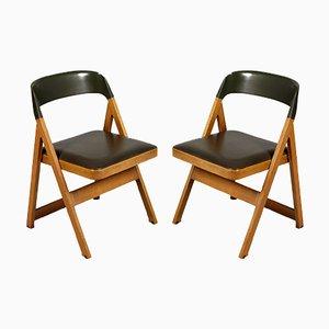 Compasso Stühle von Afra & Tobia Scarpa für Piarotto, 1980er, 2er Set