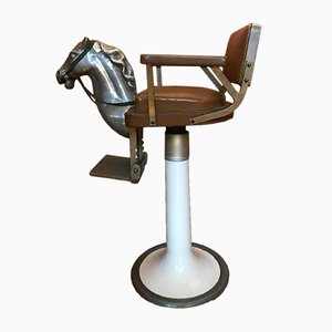Children's Barber Seat, 1950s