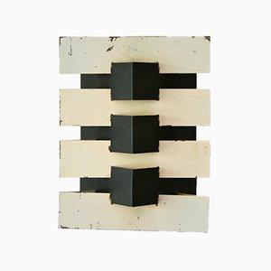 Lampada da parete modernista Mid-Century di Jean Boris Lacroix