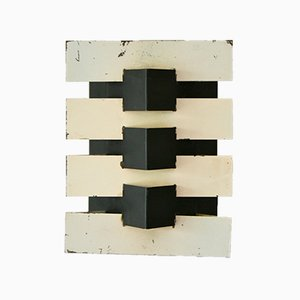 Mid-Century Modernist Wall Light by Jean Boris Lacroix