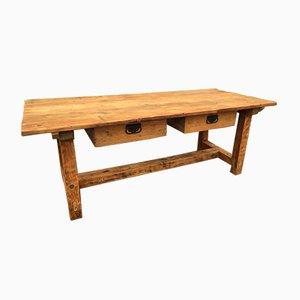 Fir Workshop Table, 1950s