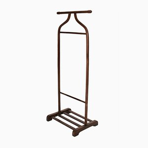 Art Deco Brown Beech Clothing Rack from Thonet, 1920s