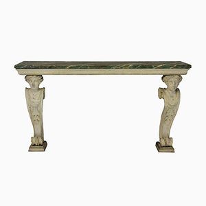 Antique English Console Table, 1790s