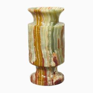 Vintage Vase aus Alabaster