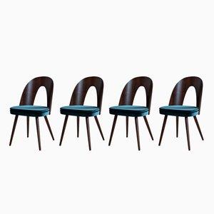 Chaises de Salle à Manger par Antonin Šuman pour Tatra, 1960s, Set de 4