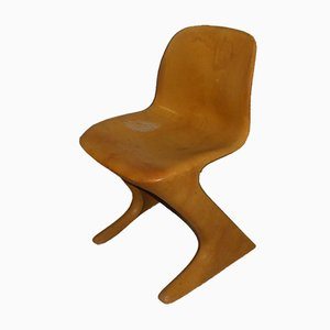 Kangaroo Z-Chair by Ernst Moeckl for VEB Petrochemisches Kombinat Schwedt, 1970s
