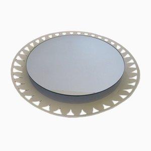 Specchio con luce di Ernest Igl per Hillebrand Lighting, anni '60