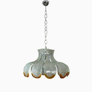 Lámpara de techo italiana de Carlo Nason para Mazzega, años 70
