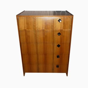 Walnut Veneer Shoe Cabinet, 1960s