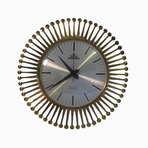 Vintage Wall Clock from Meister Anker, 1960s