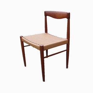 Chaise par H.W. Klein pour Bramin, Danemark, 1960s