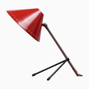 Pinocchio Tripod Table Light by H. Th. J. A. Busquet for Hala, 1950s