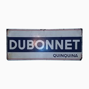 Large Tin Dubonnet Advertising Sign from Artemail, 1962