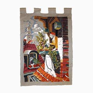 Europäischer Vintage Wandteppich, 1970er