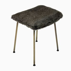 Mid-Century English Stool, 1950s