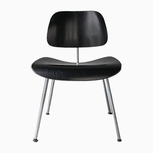 Vintage Black DCM Chair by Charles & Ray Eames for Vitra, 1980s
