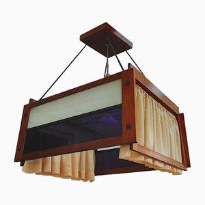 Lámpara colgante holandesa modernista, años 20