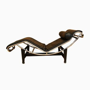 LC4 Chaise Lounge by Le Corbusier, Pierre Jeanneret, & Charlotte Perriand for Cassina, 1970s