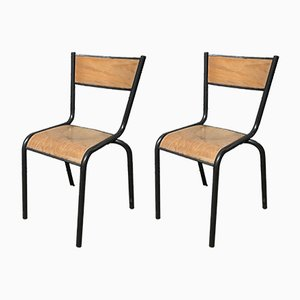 Vintage 510 Chairs by Robert Muller for Mullca, Set of 12