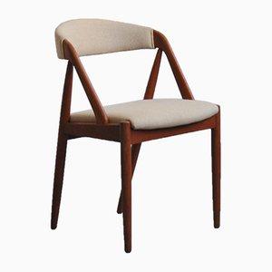 Modell 31 Esszimmerstuhl aus Teak von Kai Kristiansen für Schou Andersen, 1960er