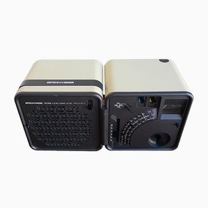 Radio Cubo TS505 Space Age di Marco Zanuso & Richard Sapper per Brionvega, anni '80