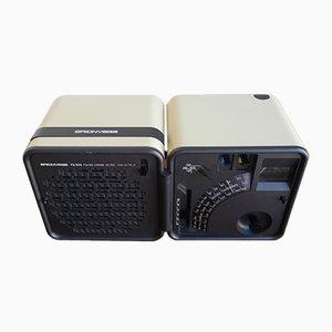Space Age Radio Cubo TS505 Radio von Marco Zanuso & Richard Sapper für Brionvega, 1980er