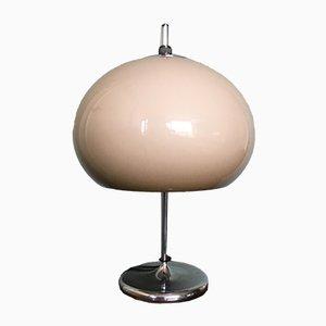 Lámpara de mesa vintage con forma de champiñón, años 70