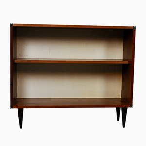 Vintage Low Shelf on Tapered Legs, 1970s