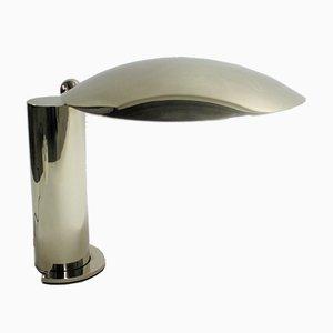 Lampe de Bureau Washington en Chrome par Jean Michel Wilmotte, 1983