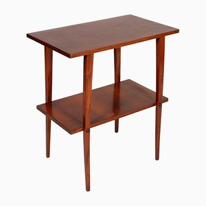 Italian Art Deco Walnut Occasional Table, 1920s
