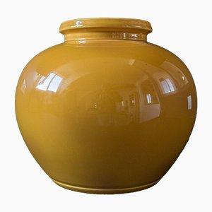 Gelbe Modell 9280 Vase, 1930er