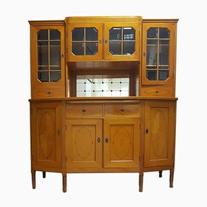 Antique Biedermeier Cherry Buffet