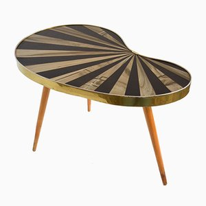 Mid-Century German Kidney Table, 1950s