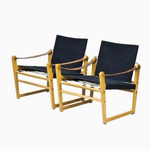 Schwedische Cikada Lehnstühle von Bengt Ruda für Ikea, 1960er, 2er Set