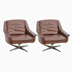 Swivel Chairs, 1960s, Set of 2
