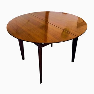Italian Mid-Century Rosewood Extendable Dining Table by Vittorio Dassi