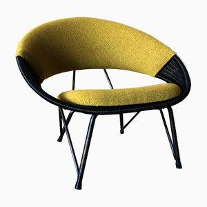 Vintage Swedish Lounge Chair, 1950s