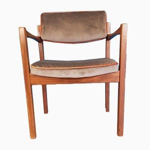 Dänischer Armlehnstuhl aus Teak von Jens Risom, 1960er