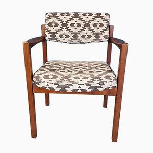 Chaise en Teck par Jens Risom, Danemark, 1960s
