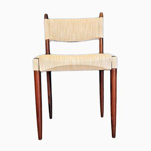 Vintage Danish Rosewood Dining Chair by Anders Jensen, 1960s