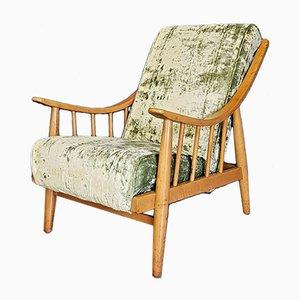 Vintage Beech Armchair, 1950s