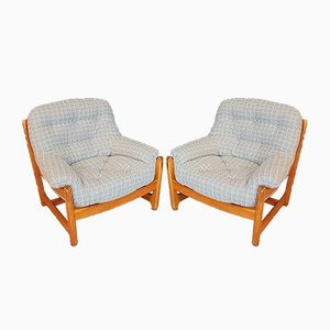 Vintage Armchairs from Ercol, 1970s, Set of 2