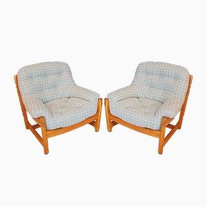 Vintage Sessel von Ercol, 1970er, 2er Set