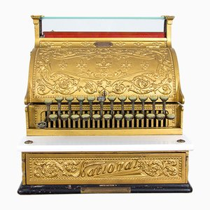 Antike Modell 235 Kasse von National Cash Register Co., 1914