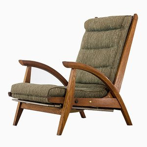 French FS 134 Lounge Chair by Guy Besnard for Free Span, 1950s