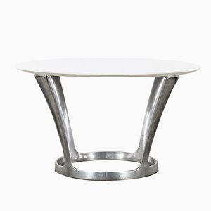 Chromed Table by Michel Charron, 1960s