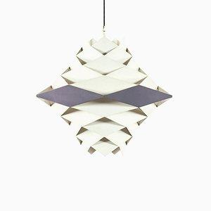 Lámpara de techo grande de Preben Dahl para Lyfa, años 60